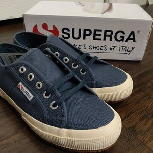 Superga 2750 Cotu Classic - Blu Shadow